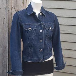 Vintage Jean Jacket M Blue Denim 100% Cotton